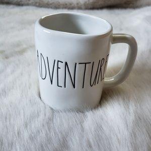 Rae Dunn White Adventure Mug